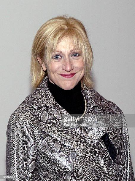 Edie Falco attends What Fresh Hell is This an evening of Dorothy Parker readings at the Tribeca Rooftop April 13 2004 in New York City