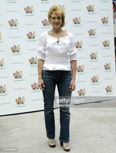 Edie Falco during 13th Annual Kids for Kids Celebrity Carnival to Benefit the Elizabeth Glaser Pediatric AIDS Foundation at Industria Studios in New...