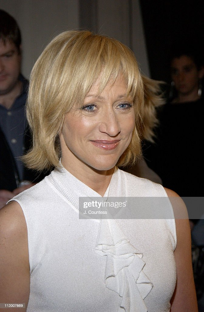 Edie Falco during 58th Annual Tony Awards Nominee Announcements at Hudson Theater in New York City, New York, United States.
