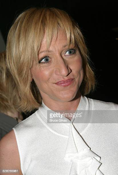 Edie Falco during 58th Annual Tony Awards Nominee Announcements at The Hudson Theater in New York City New York United States