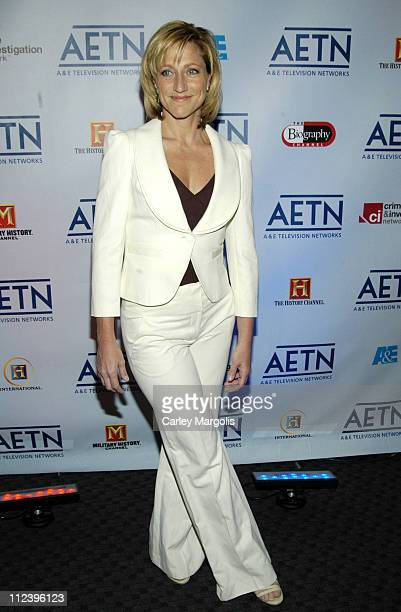Edie Falco during AE Unveils Fall 2006 Season Lineup at the AE Network Upfronts at Time Warner Center Jazz at Lincoln Center in New York City New...