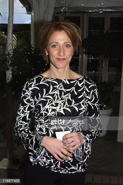 Edie Falco during AFI Awards 2003 at Four Seasons Hotel in Los Angeles, CA, United States.