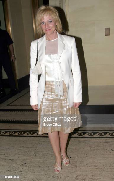 Edie Falco during 'Caroline Or Change' Opening Night on Broadway After Party at Gotham Hall in New York City New York United States