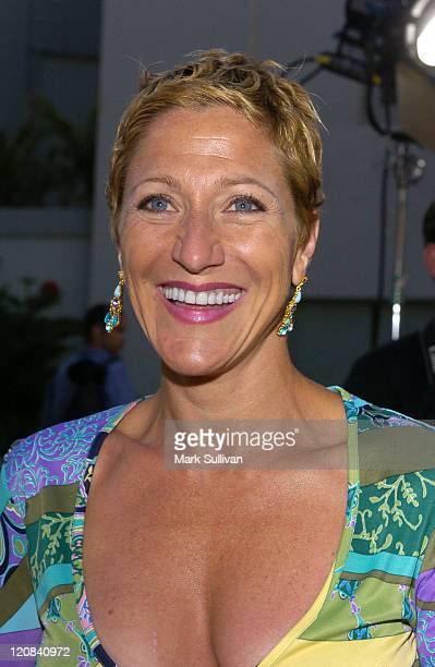 Edie Falco during Outfest 2004 Festival Closing Night and Los Angeles Premiere of A Home at the End of the World Red Carpet Arrivals at Mann's...
