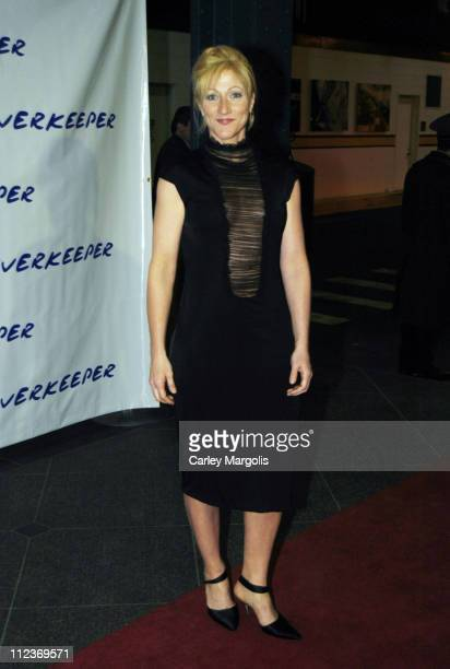Edie Falco during The 2004 Riverkeeper Benefit Dinner at Chelsea Piers, Pier 60 in New York City, New York, United States.