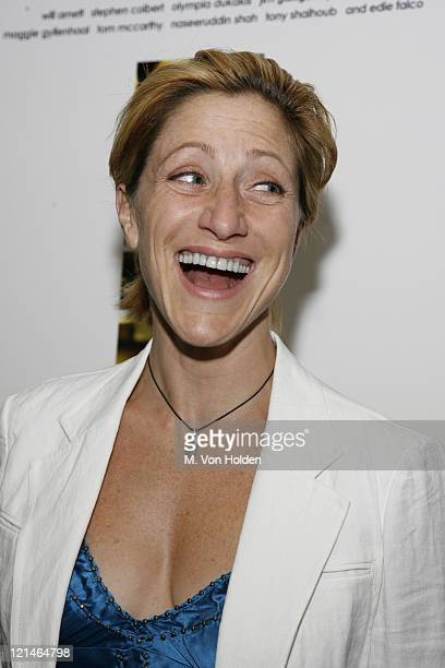Edie Falco during The Great New Wonderful Premiere to Benefit Creative Alternative of New York at Angelika Film Center in New York New York United...