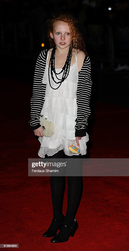 Edie Martin attends the screening of 'Bright Star' during The Times BFI London Film Festival at Odeon Leicester Square on October 19, 2009 in London, England.