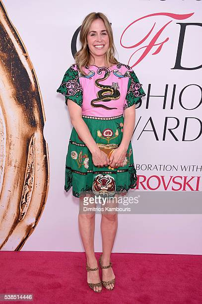 Edie Parker attends the 2016 CFDA Fashion Awards at the Hammerstein Ballroom on June 6 2016 in New York City