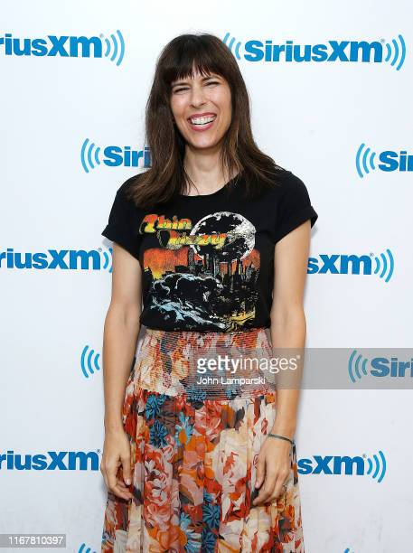 Edie Patterson visits SiriusXM Studios on August 13 2019 in New York City