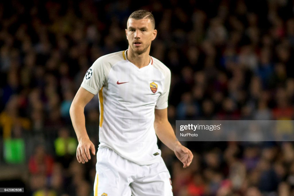 FC Barcelona v AS Roma - UEFA Champions League Quarter Final Leg One : Foto di attualità