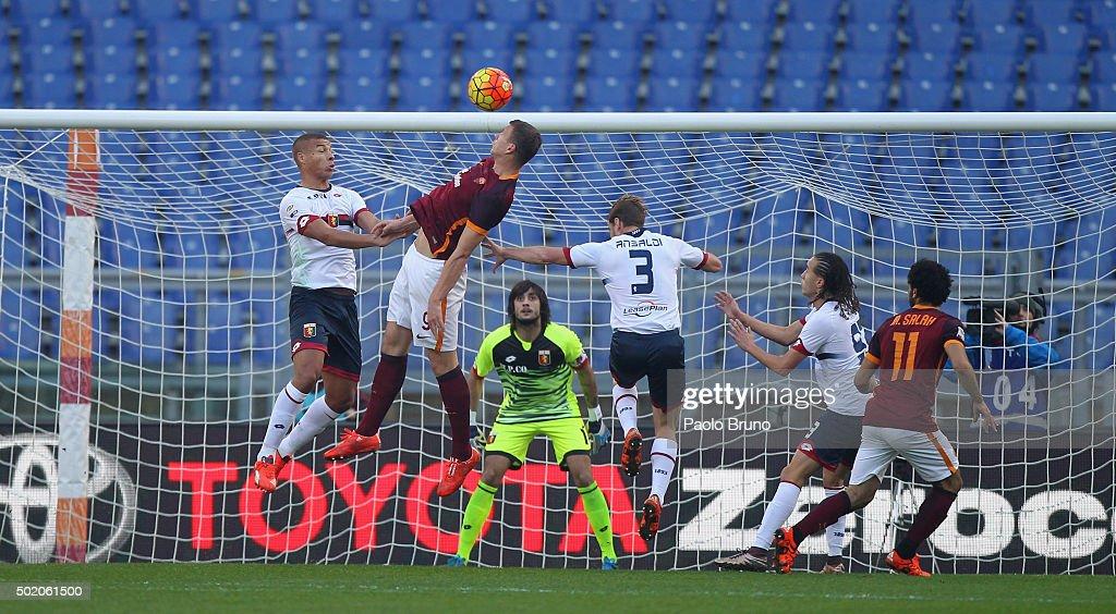 AS Roma v Genoa CFC - Serie A : News Photo