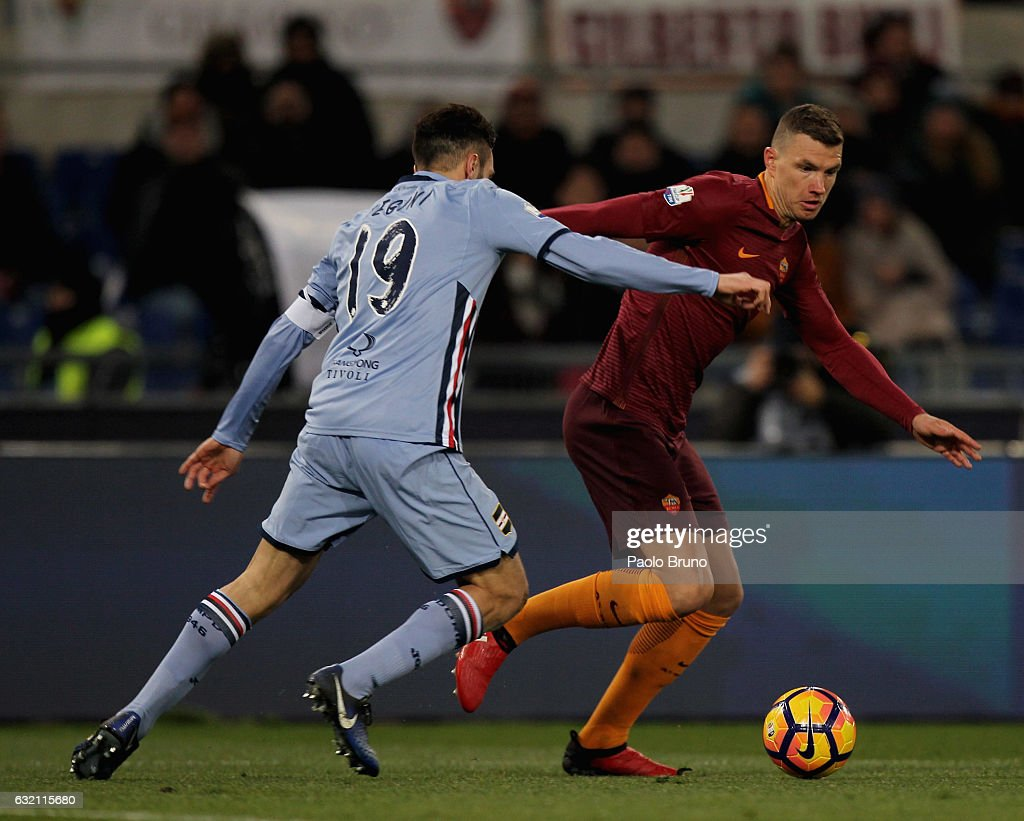 AS Roma v UC Sampdoria - TIM Cup : News Photo