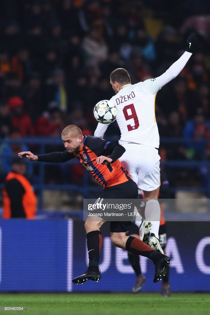 Shakhtar Donetsk v AS Roma - UEFA Champions League Round of 16: First Leg : Photo d'actualité