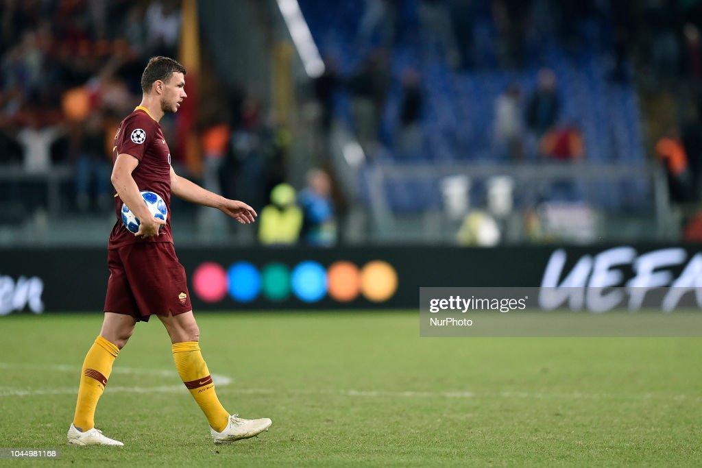 Roma v FC Viktoria Plzen UEFA Champions League 2/10/2018. : News Photo