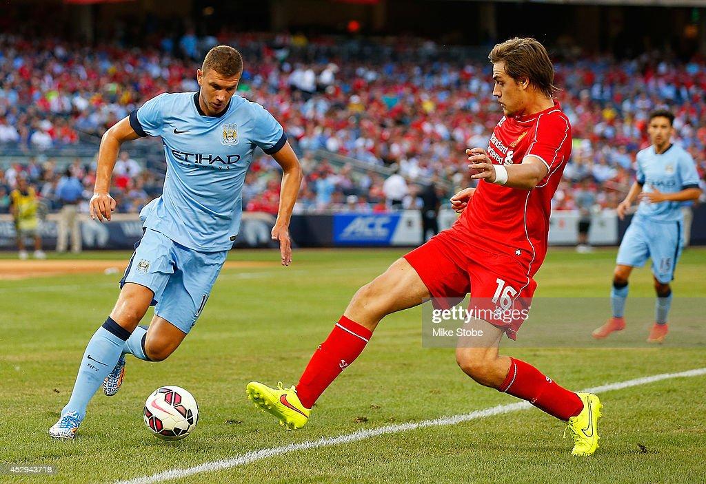 International Champions Cup 2014 - Manchester City v Liverpool : News Photo