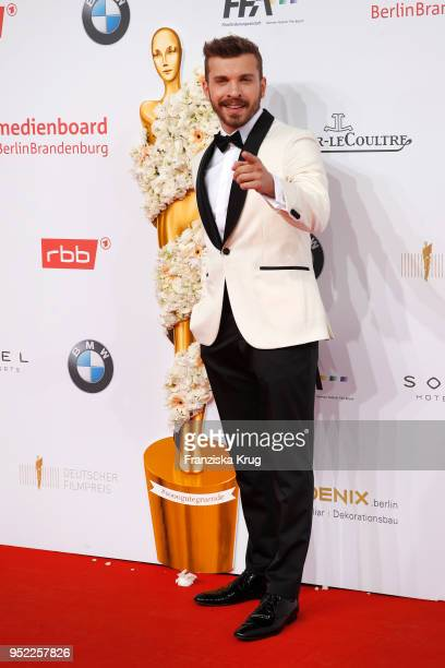 Edin Hasanovic attends the Lola German Film Award red carpet at Messe Berlin on April 27 2018 in Berlin Germany