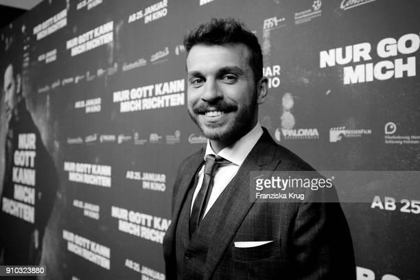 Edin Hasanovic attends the 'Nur Gott kann mich richten' Screening at Cubix Alexanderplatz on January 25 2018 in Berlin Germany