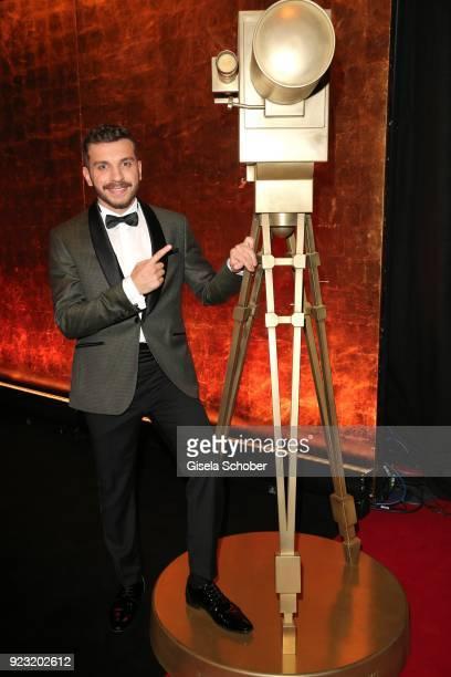 Edin Hasanovic during the Goldene Kamera reception on February 22 2018 at the Messe Hamburg in Hamburg Germany