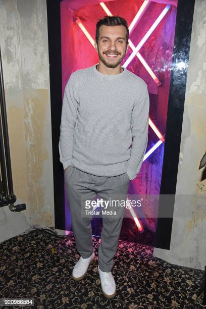 Edin Hasanovic during the Pantaflix Panta Party on February 19 2018 in Berlin Germany