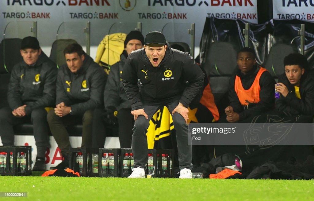 Borussia Dortmund v SC Paderborn 07 - DFB Cup: Round Of Sixteen : ニュース写真