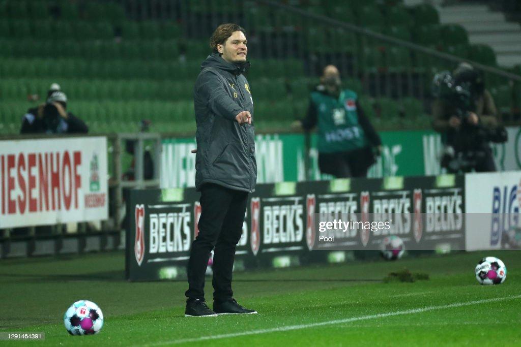 SV Werder Bremen v Borussia Dortmund - Bundesliga : News Photo