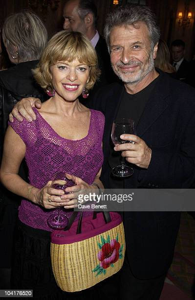 Edina Ronay An Her Husband Alexandra Shulman Celebrated 10 Years As Editor Of Vogue Magazine with A Party At The Ritz Hotel London