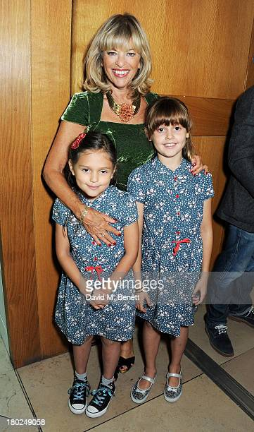 Edina Ronay and guests attend a private view of 'Portraits' a new exhibition by Jonathan Yeo at the National Portrait Gallery on September 10 2013 in...