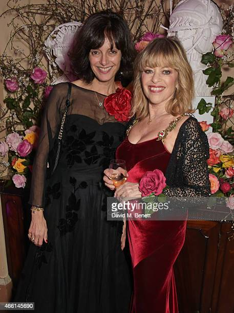 Edina Ronay attends a party hosted by Vogue Editor Alexandra Shulman in honor of Lucinda Chambers at Home House Private Members Club on March 13 2015...