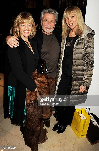 Edina Ronay guest and Penelope Tree attend Rocks Stones Metal hosted by Michael Roberts and Andrea Dellal at Joseph on December 9 2010 in London...