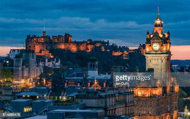 Edinburgh After Sunset