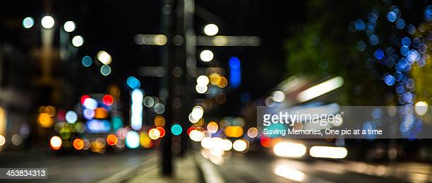 Edinburgh Bokeh at Night