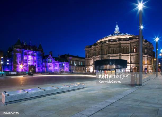 edinburgh - bristo square - students' union stock pictures, royalty-free photos & images
