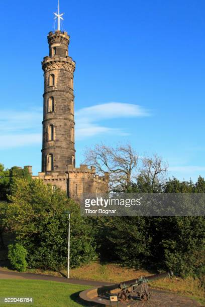 Edinburgh, Calton Hill, Nelson Monument,
