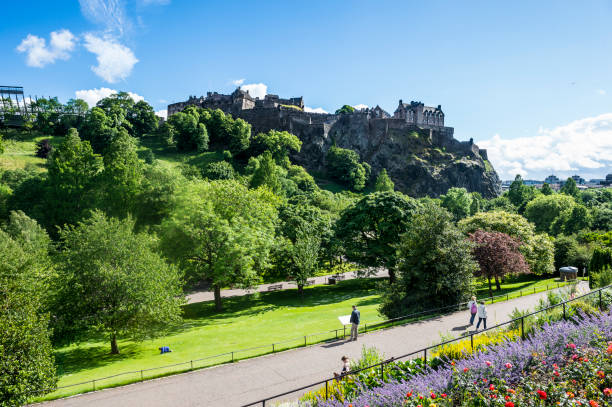 Edinburgh Castle, Edinburgh, Scotland, United Kingdom, Europe