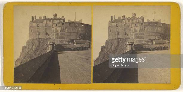 Edinburgh Castle from the Esplanade James Valentine 1870s Albumen silver print