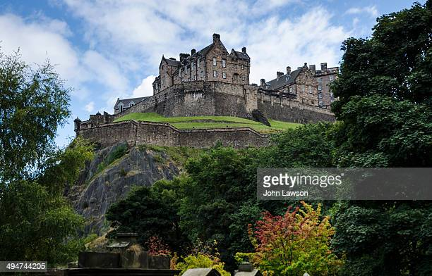 CONTENT] Edinburgh Castle is a historic fortress which dominates the skyline of the city of Edinburgh Scotland from its position on the Castle Rock