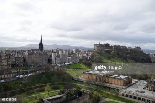 Edinburgh castle & old town