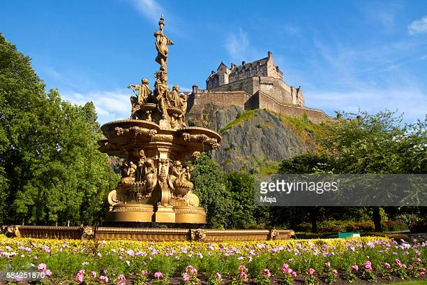 edinburgh castle - edinburgh castle stock pictures, royalty-free photos & images