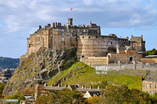 edinburgh castle, scotland - edinburgh castle stock pictures, royalty-free photos & images
