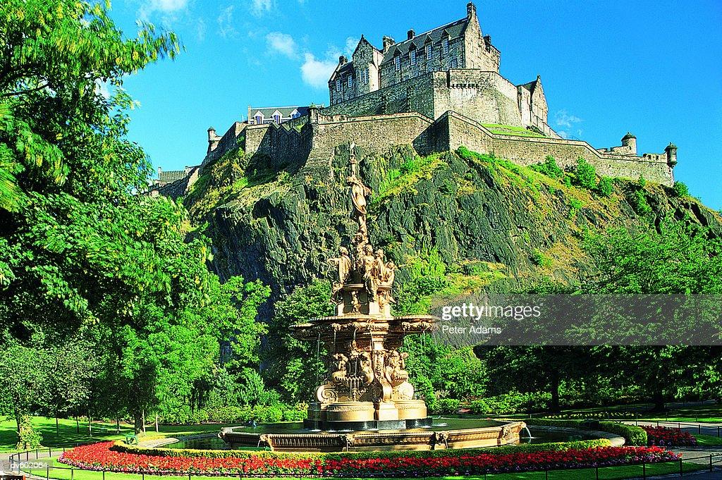 Edinburgh Castle, Scotland, UK : Foto de stock