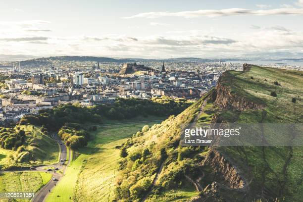 edinburgh city - city stock pictures, royalty-free photos & images