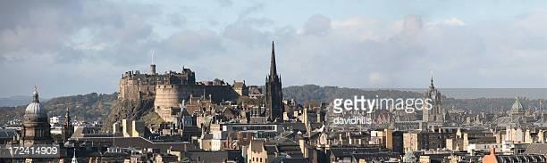 Edinburgh city skyline.