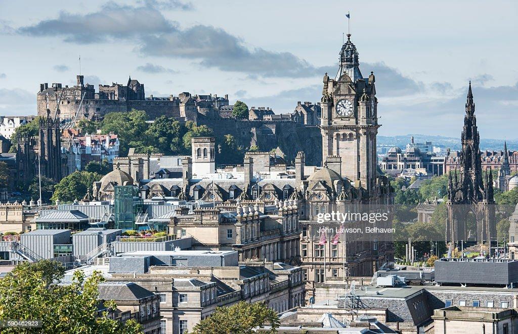 Edinburgh cityscape : Foto de stock