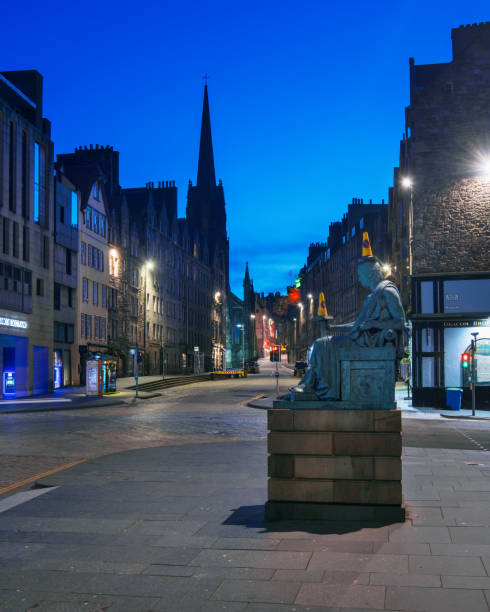 Edinburgh - David Hume and The Royal Mile