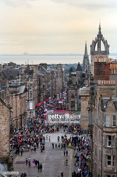 Edinburgh Festival Fringe in the Royal Mile