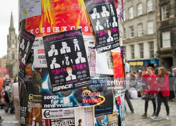Festival Fringe d'Édimbourg de publicité