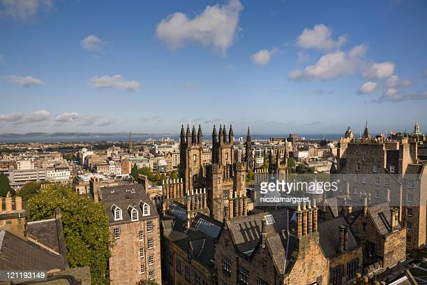 Edinburgh from Camera Obscura tower