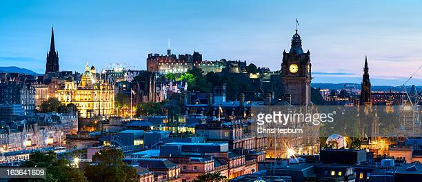 Edinburgh Panoramic Cityscape, Scotland