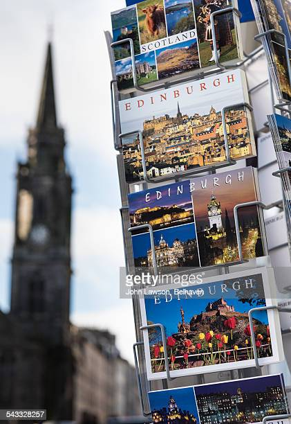 Edinburgh postcards with Tron Kirk