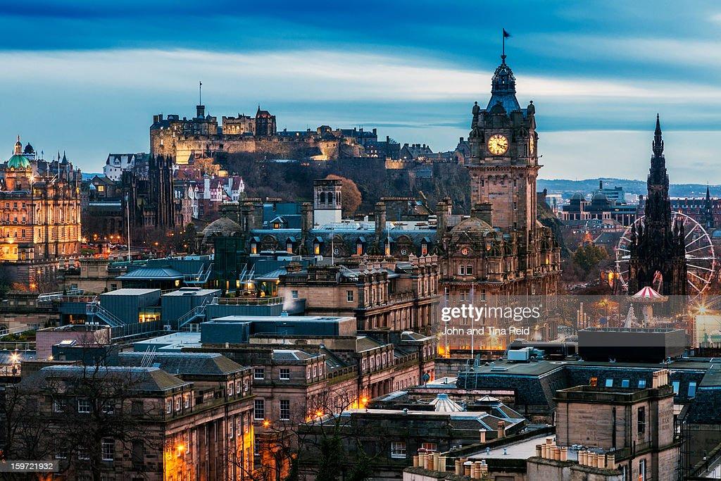 Edinburgh - Scottish Heritage : Foto de stock